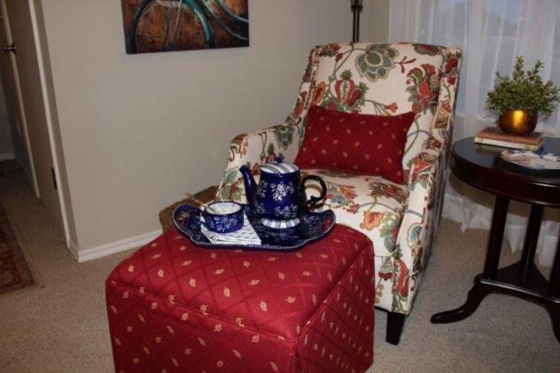 Belle Bleu Interiors Reading Nook 2