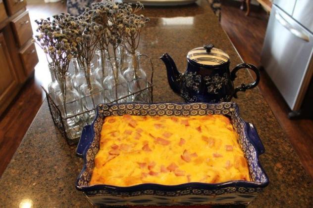 breakfast casserole finished