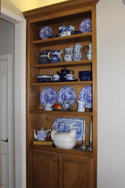 Belle Bleu Interiors Blue and White in the Kitchen 9