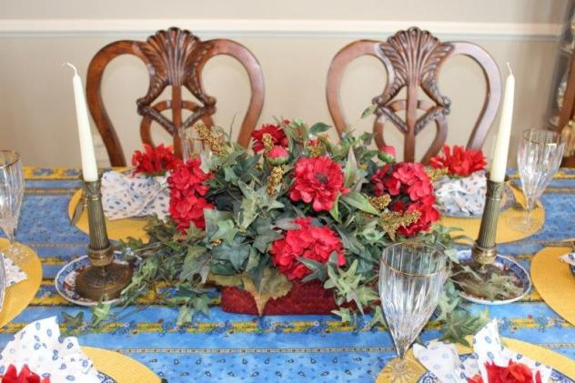 Belle Bleu Interiors French Country Tablescape 10