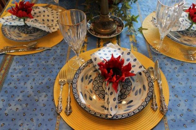Belle Bleu Interiors French Country Tablescape 2