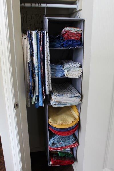 Belle Bleu Interiors Linen Closet 1