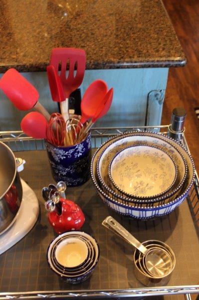 Belle Bleu Interiors Baking Cart 1