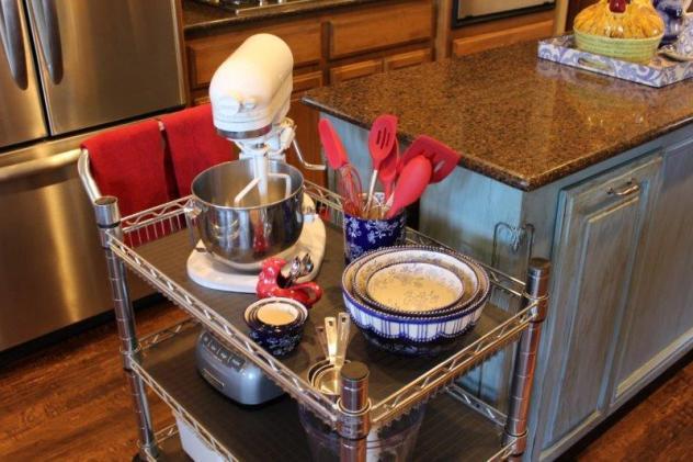 Belle Bleu Interiors Baking Cart 10