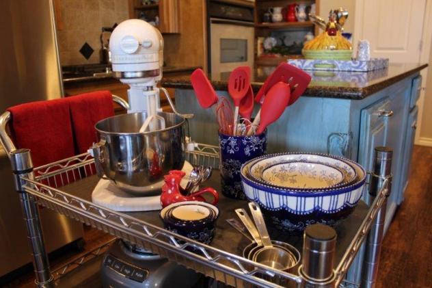 Belle Bleu Interiors Baking Cart 4