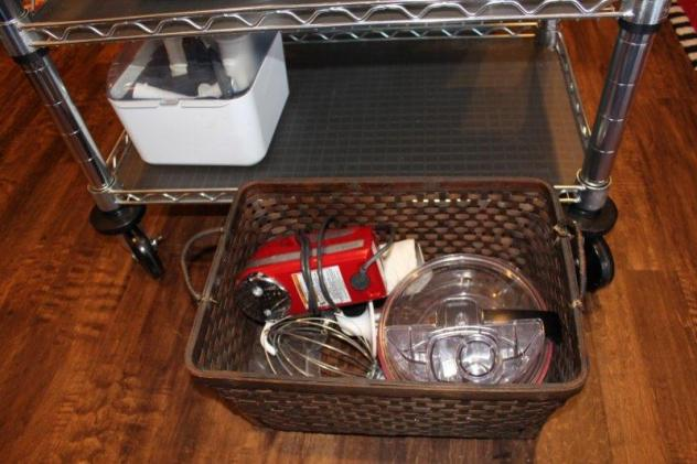 Belle Bleu Interiors Baking Cart 5