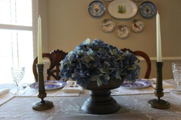 Belle Bleu Interiors Blue Italian Tablescape 5