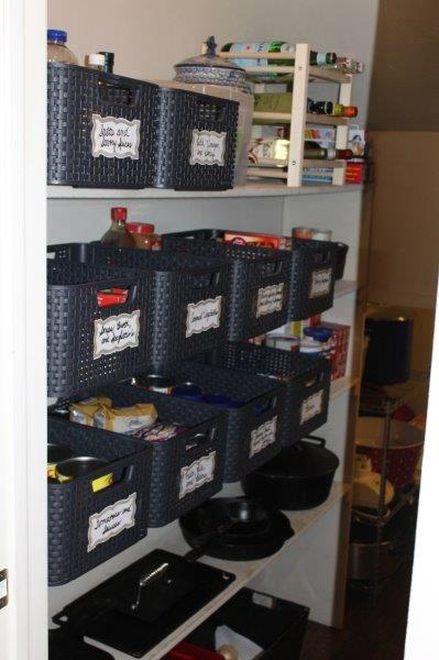 Belle Bleu Interiors Pantry Organization 5