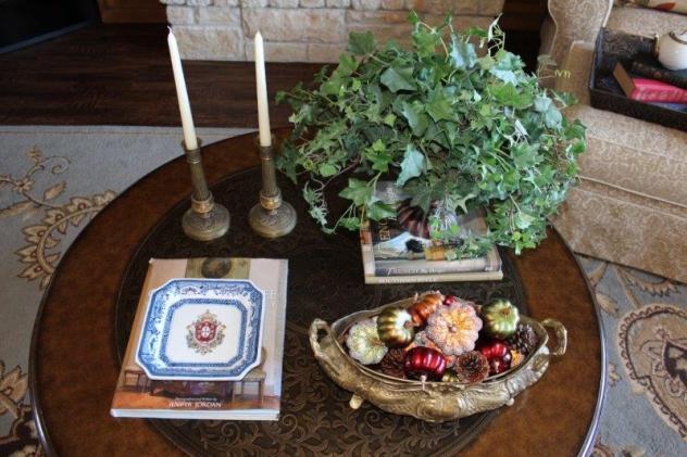Belle Bleu Interiors Fall Coffee Table 4
