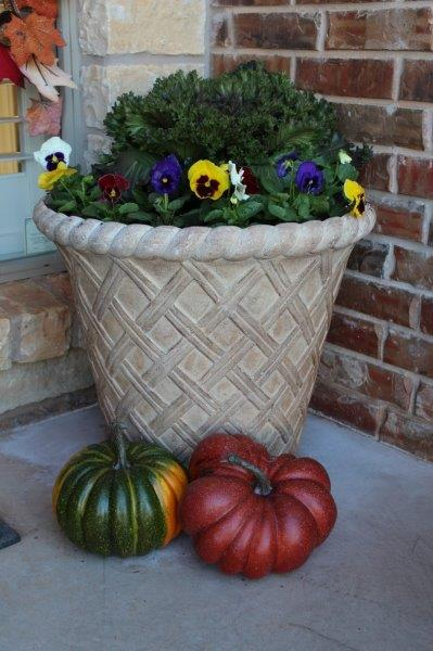 Belle Bleu Interiors Fall Front Porch 9