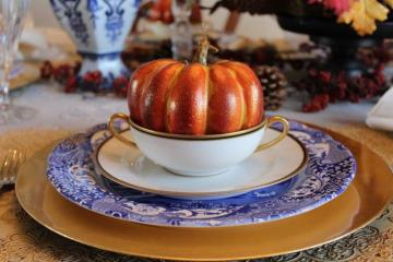 Belle Bleu Interiors Fall Tablescape 16