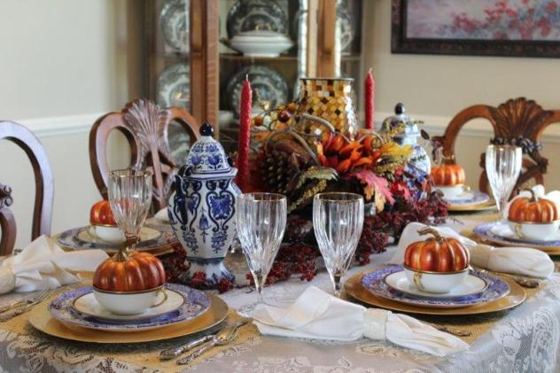 Belle Bleu Interiors Fall Tablescape 18