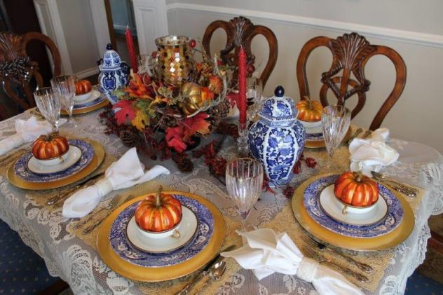Belle Bleu Interiors Fall Tablescape 20