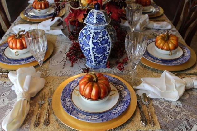 Belle Bleu Interiors Fall Tablescape 21