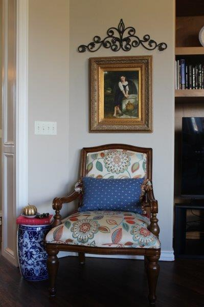 Belle Bleu Interiors French Country Living Room Fall Tour 22