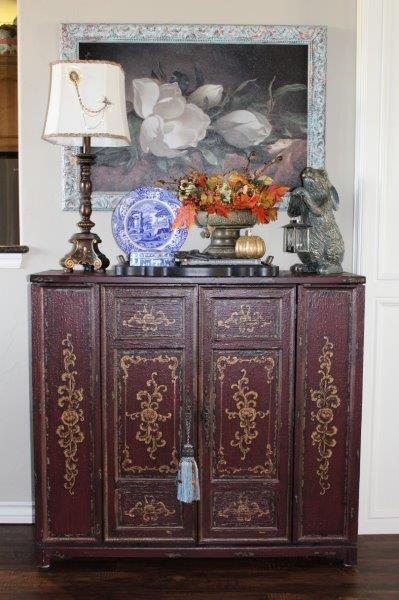 Belle Bleu Interiors French Country Living Room Fall Tour 7