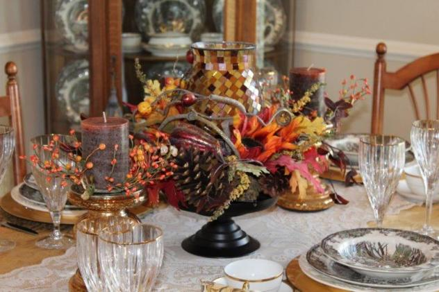 Belle Bleu Interiors Autumn Tablescape 15