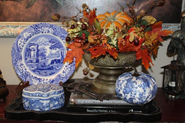 Belle Bleu Interiors Designing a Faux Pumpkin 7