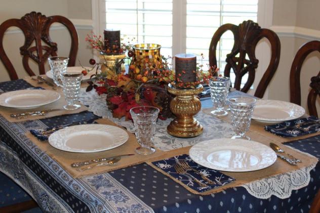 Belle Bleu Interiors Casual Autumn Dinner with Friends 10