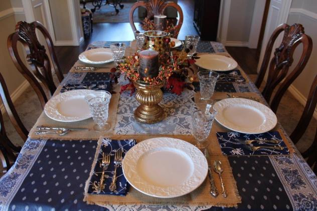 Belle Bleu Interiors Casual Autumn Dinner with Friends 4