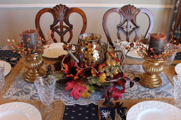 Belle Bleu Interiors Casual Autumn Dinner with Friends 6