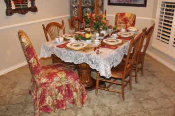 Belle Bleu Interiors Thanksgiving Table 13
