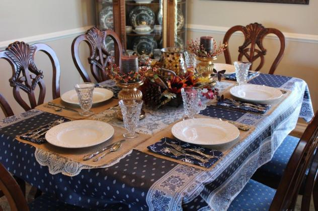Belle Bleu Interiors Thanksgiving Tablescape Roundup 3