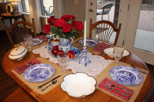 Belle Bleu Interiors Mr. Bleu's Birthday Dinner 18
