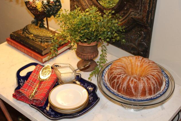 Belle Bleu Interiors Mr. Bleu's Birthday Dinner 2