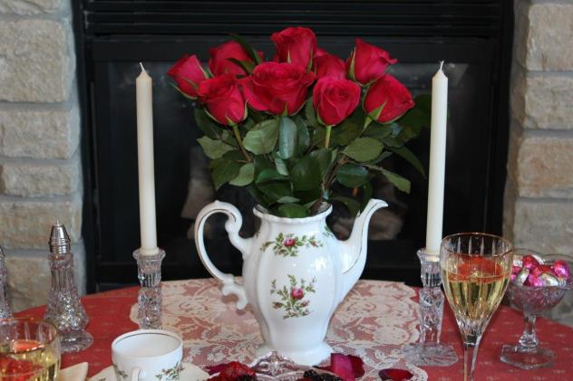 Belle Bleu Interiors Romantic Table for Two 12