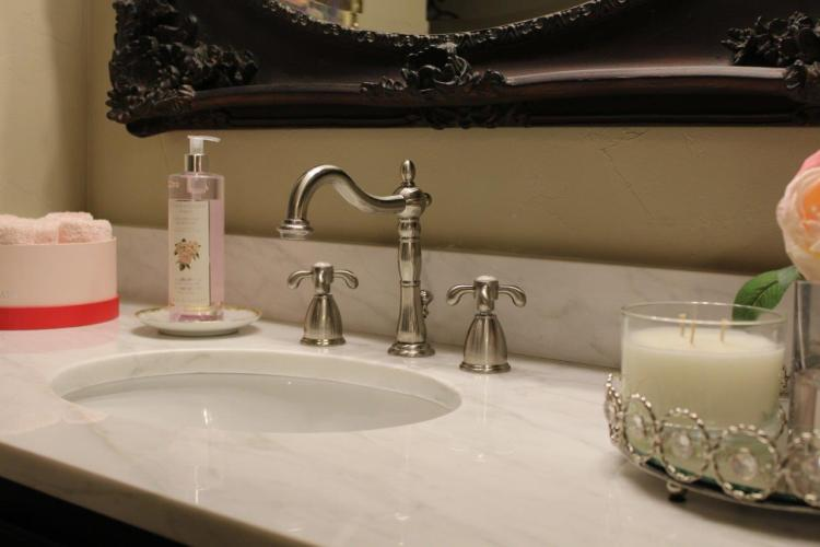 Belle Bleu Interiors French Country Master Bathroom 13