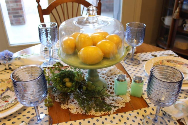 Belle Bleu Interiors Sunday Brunch Tablescape 6