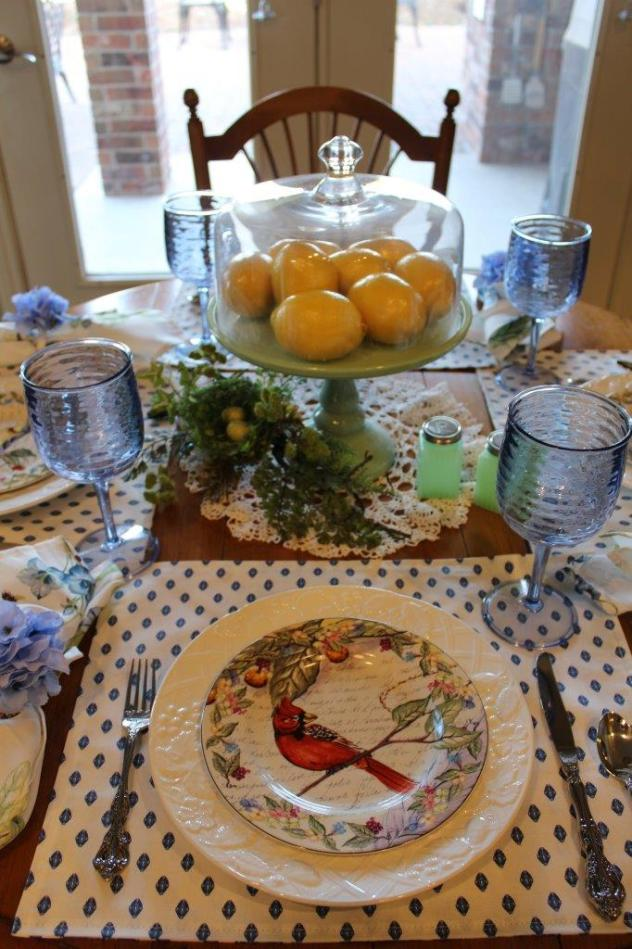 Belle Bleu Interiors Sunday Brunch Tablescape 7