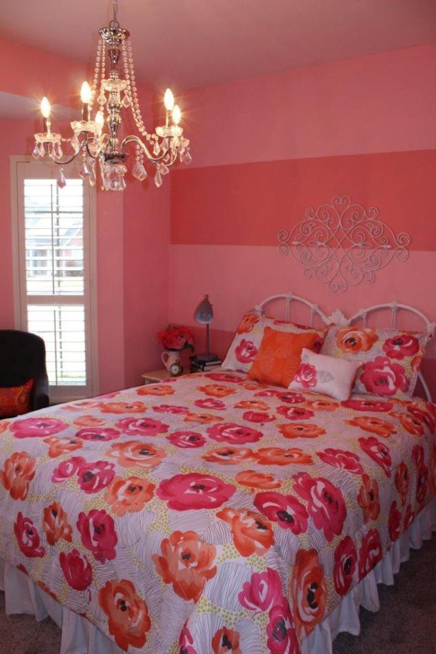 Belle Bleu Interiors Teen Girl's Bedroom 13