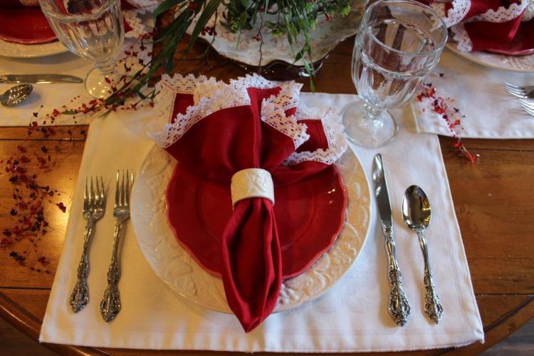 Belle Bleu Interiors Valentine's Table 12