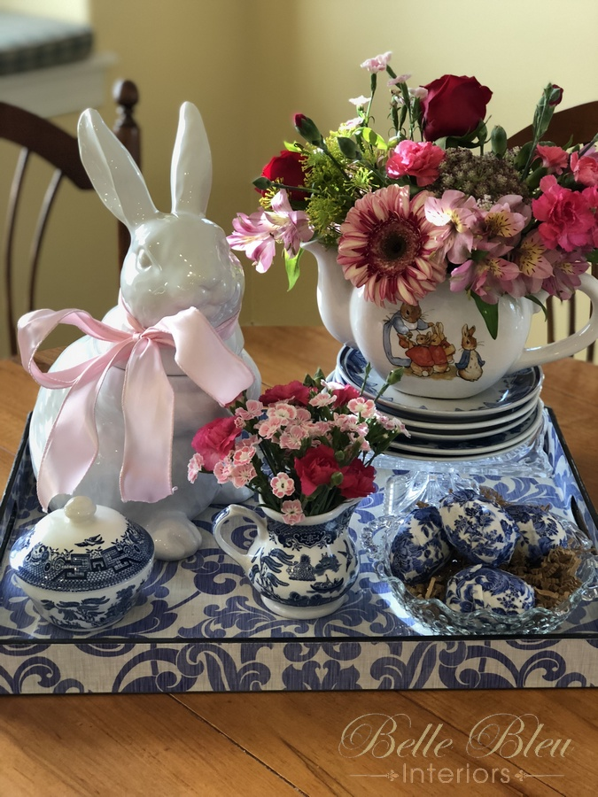 A Spring Vignette for the Kitchen