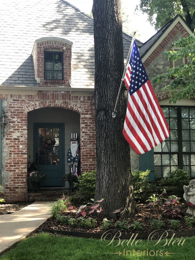 Patriotic Front Porch Tour