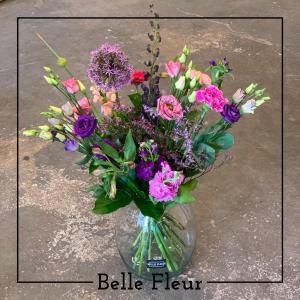 Paars geplukt Belle Fleur Bloemen en Planten Zwolle