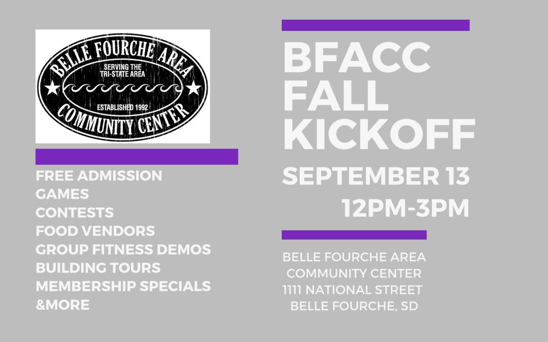 BFACC Fall Kickoff September 13