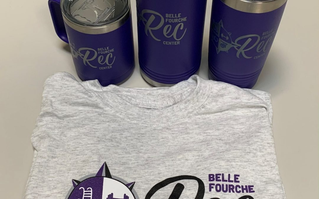 Rec Center Branded Merch Now Available!