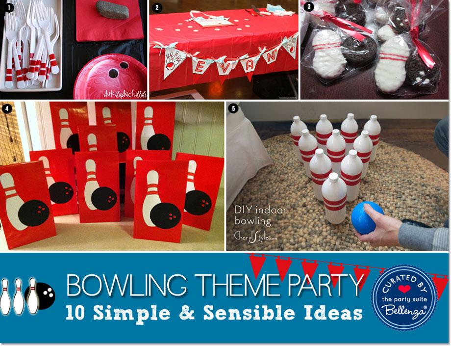 Smart Idea Bowling Party Favor Ideas