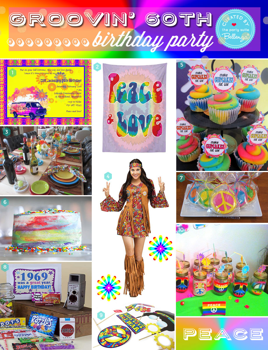 How To Host A Groovin 60s Birthday Party For Grown Ups