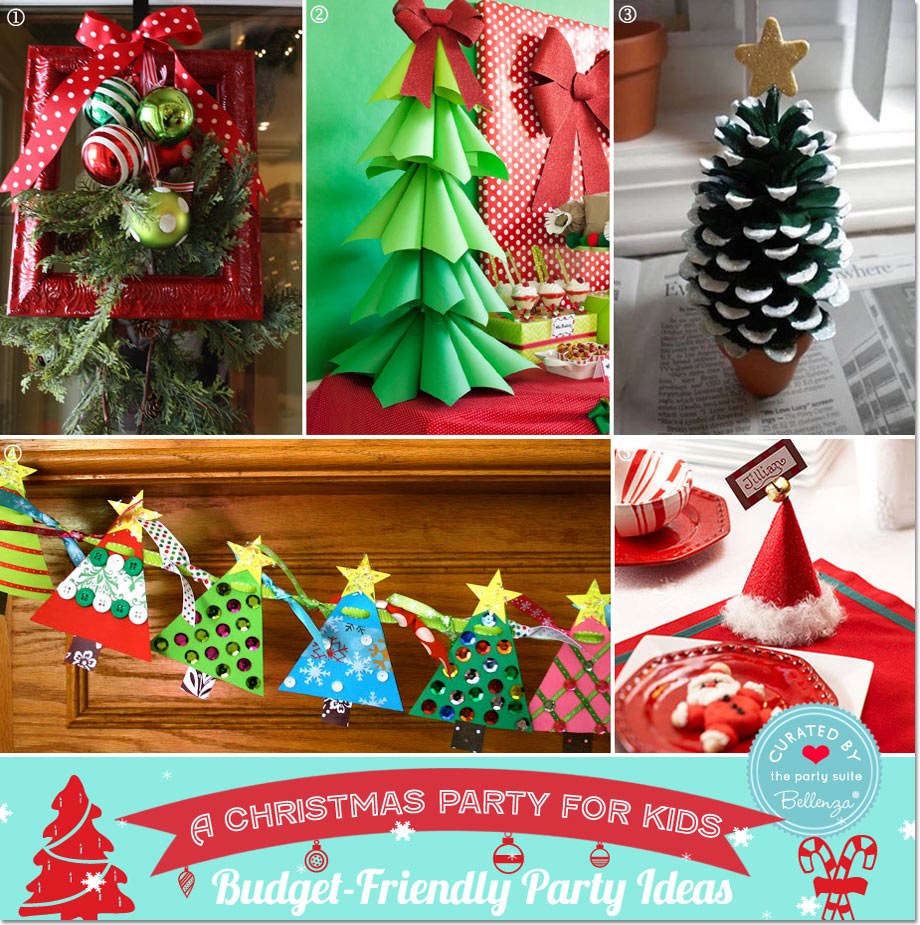 Budget Christmas Decorating Ideas: Decorating For A Christmas Party On Budget