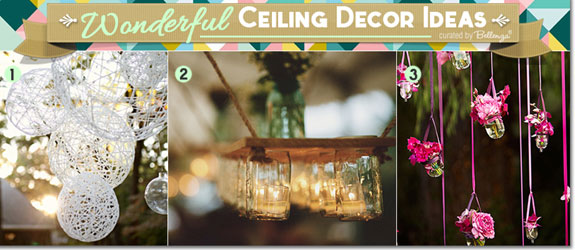 Diy ceiling decorations for wedding reception theteenline diy ceiling decor my web value junglespirit Gallery