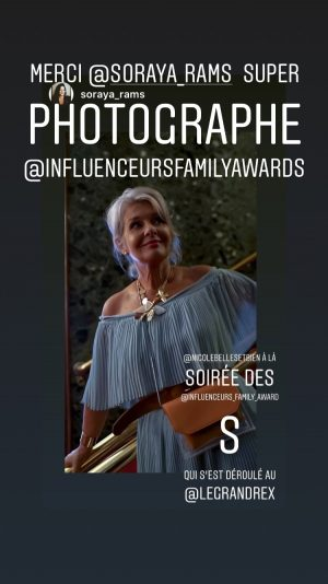 Cérémonie Influenceurs Family Awards