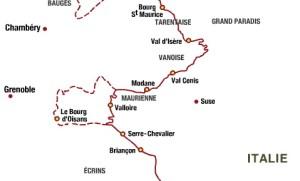 plan route des grands alpes 2