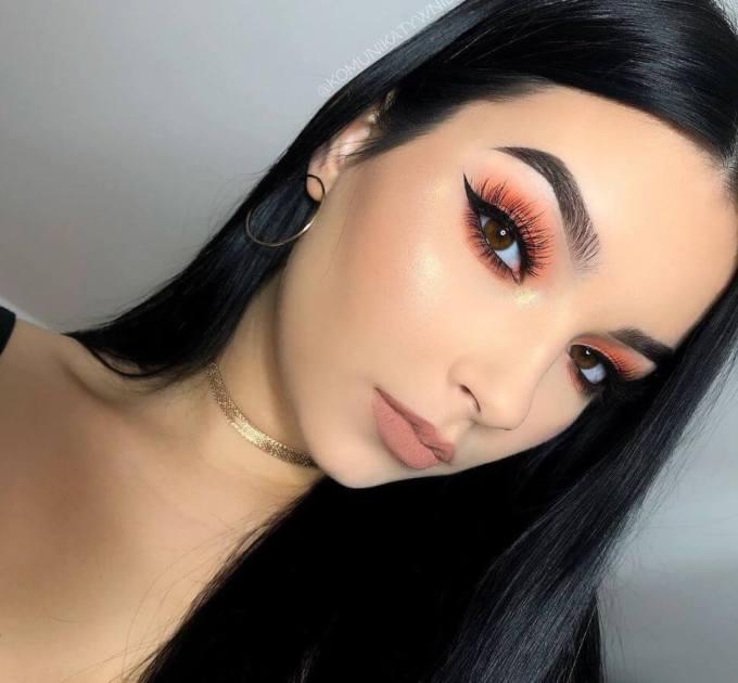 makeup ideas for brown eyes and dark brown hair   saubhaya