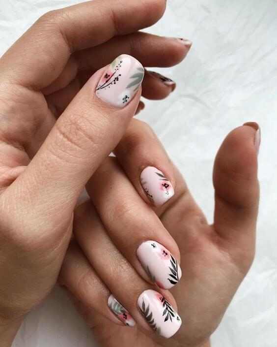 100 Most Beautiful Short Nail Designs For 2020 Belletag