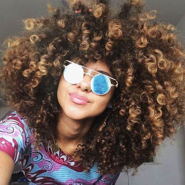 How To Highlight Naturally Curly Hair At Home Makeupsite