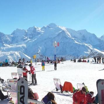 ski Flaine Grand Massif Mont blanc